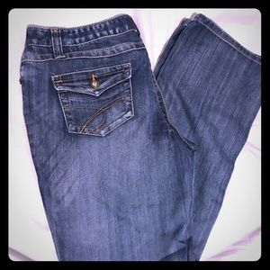 INC Jeans with rhinestone detail